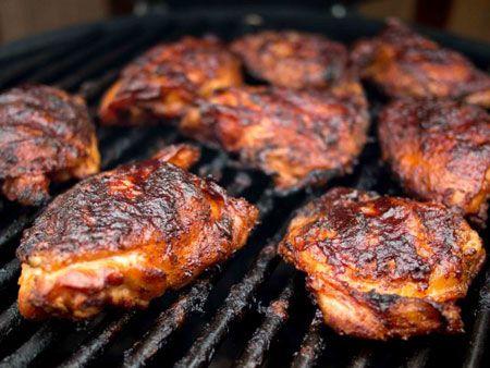 Куриное барбекю